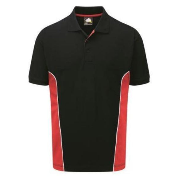 Men's Orn Silverswift Two Tone Poloshirt - Variety of Colours