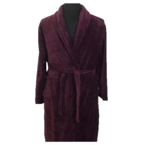 Espionage Fleece Gown - Big Guys Menswear