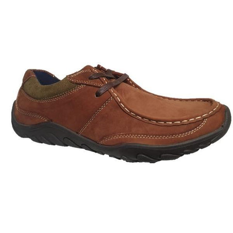 Roamers 2 Eye Apron Casual Boat Style Shoe - Big Guys Menswear