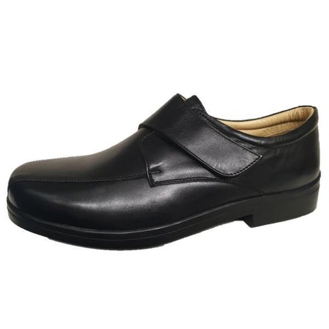 Roamers Extra Wide Fitting Soft Leather Shoes - Big Guys Menswear