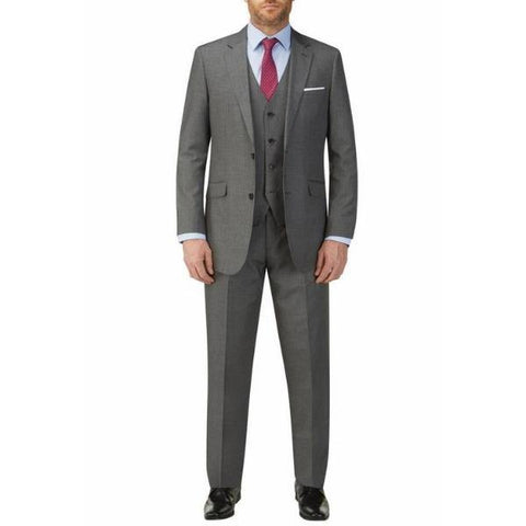 Skopes Pedley Stripe Grey 3 Piece Suit - Big Guys Menswear