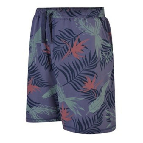 Espionage Printed French Terry Short