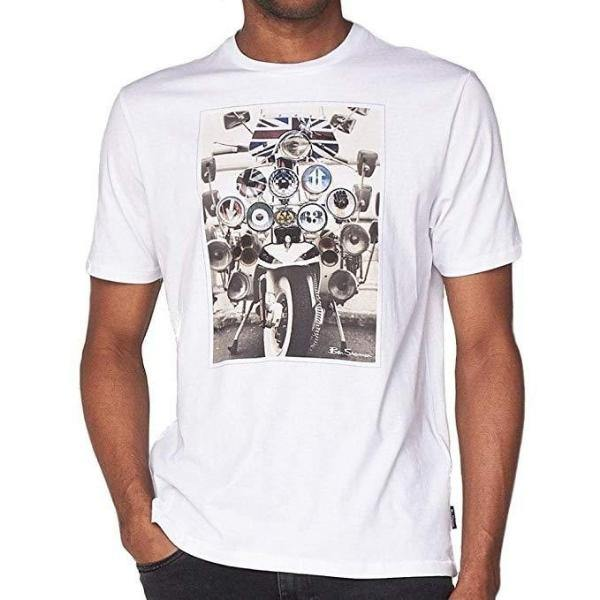 Ben Sherman Headlamp Badges T-Shirt