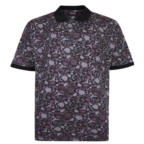 Espionage Floral Polo