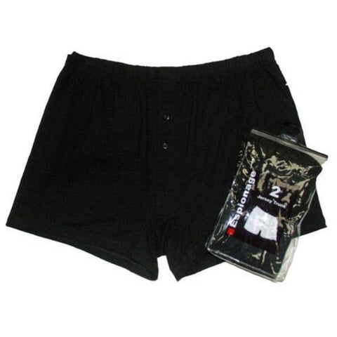 Espionage Boxer Shorts ~ 2 Pack - Big Guys Menswear