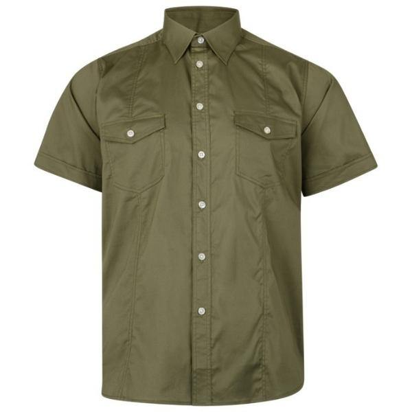 Kam Retro Stretch Shirt - Big Guys Menswear