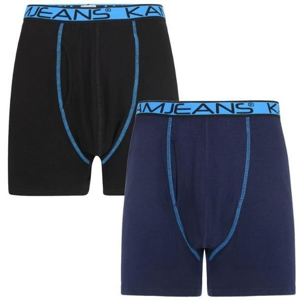 Kam Jersey Boxer Briefs ~ Pack of 2 & Bulk Buy - Big Guys Menswear