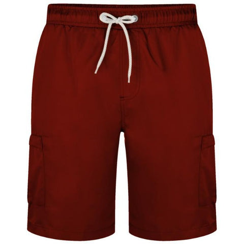 Kam Plain cargo Swim Shorts
