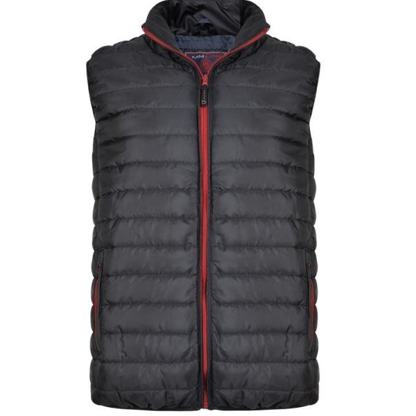 Kam Quilted Gilet