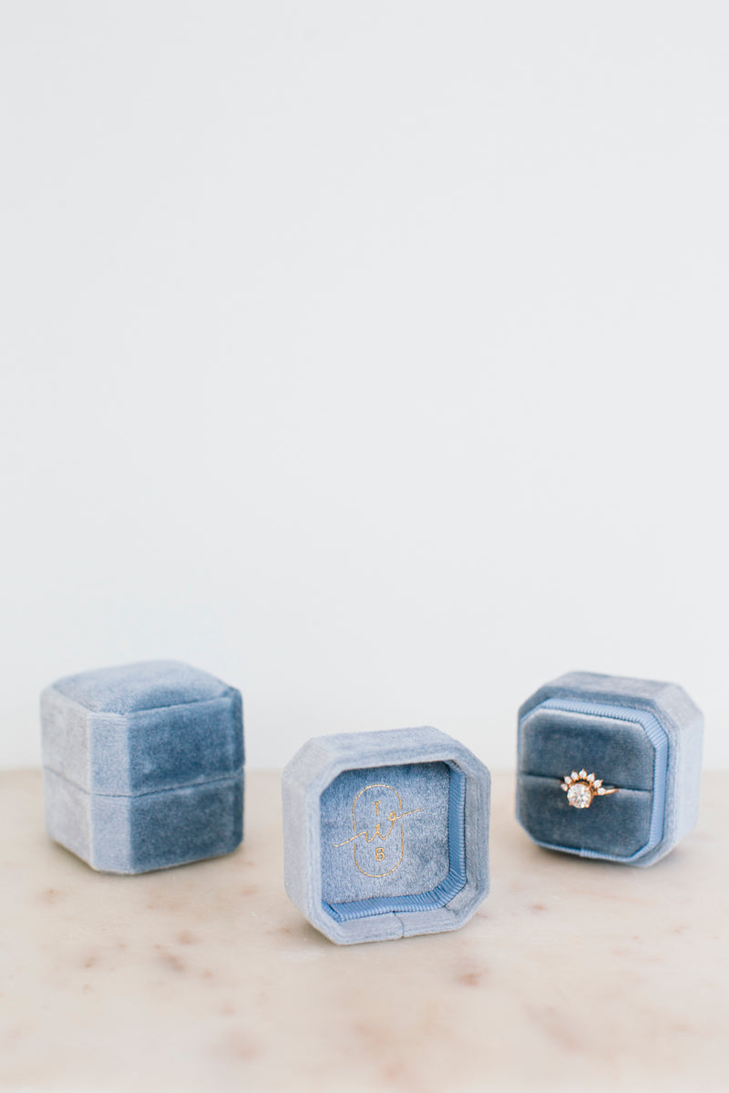 Octagonal Ring Box - Luxe Edition - Bondi