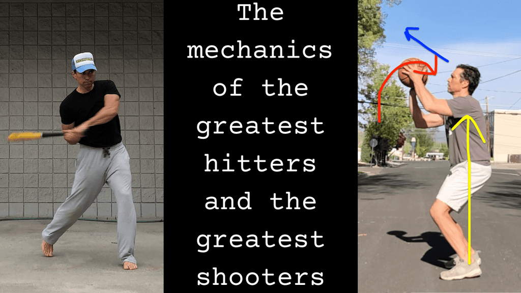 The Similarities of the Mechanics of the Greatest Hitters and the Greatest Jump Shooters