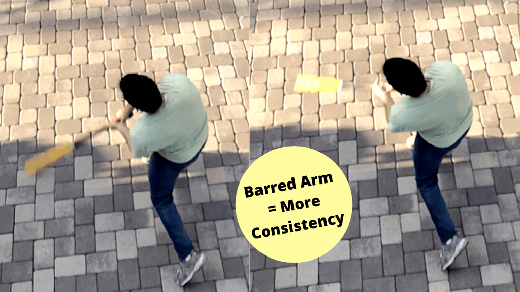 How A Barred Arm Equals More Consistency
