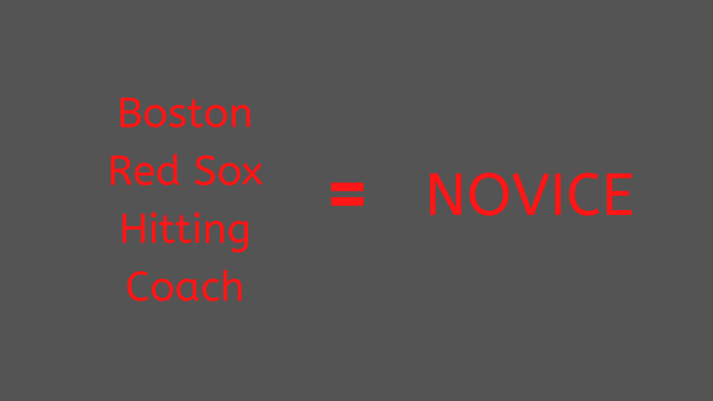 Podcast #3 - Boston Red Sox Tim Hyers Is A Novice At Swing Mechanics