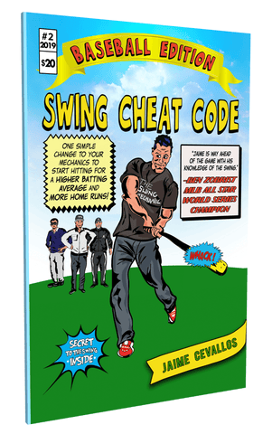 Swing Cheat Code 2 Baseball Edition - The Best Book on Baseball Swing Mechanics