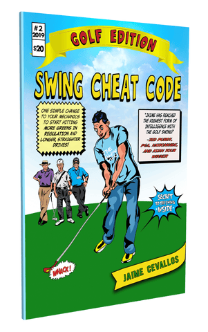 Swing Cheat Code Golf Edition Cover - The Best Book on Golf Swing Mechanics