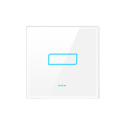 1-Gang Smart Switch - WHITE - Lighting_Switch On/Off