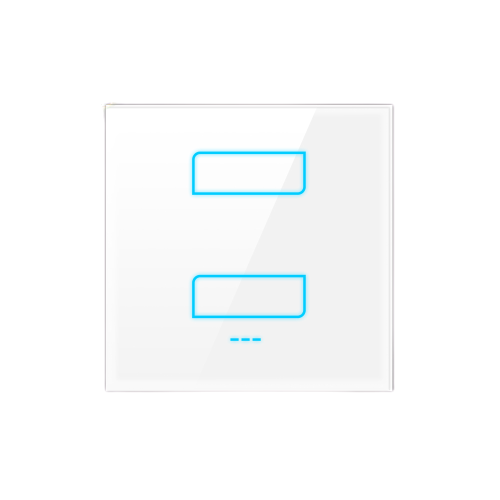 1/2/3-Gang Smart Switch - WHITE / 2 - Lighting_Switch On/Off