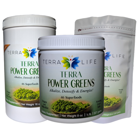 Terra Power Greens Collection