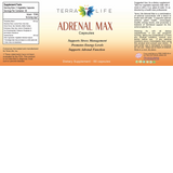 Terra Adrenal Max Label