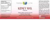 Kidney Max Label