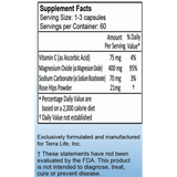 Terra Colon Max Capsules - 120 Count Supplement Facts