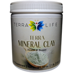 Terra Mineral Clay - Montmorillonite Clay - 1 lb - (16 oz, 454 gram)
