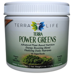 Terra Power Greens Powder - 1/4 lb - (4 oz, 113 gram)