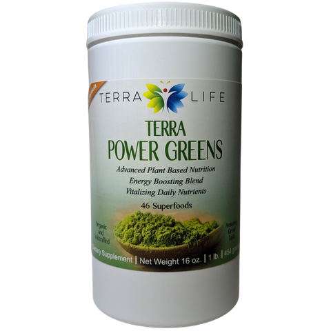 Terra Power Greens - 1 lb - (16 oz, 454 gram)