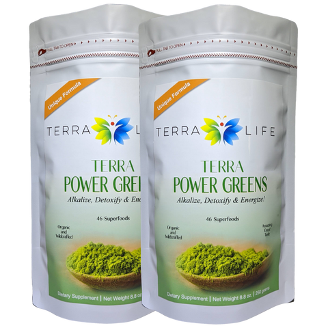 Terra Power Greens - 500 grams