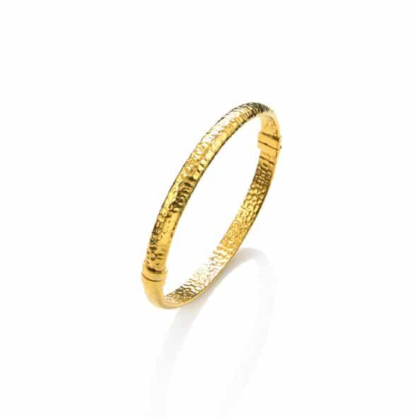 Bangle rigido dorato - Mendes Gioielli Shop online