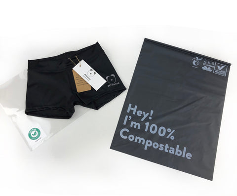 Ecologically responsible compostable packaging