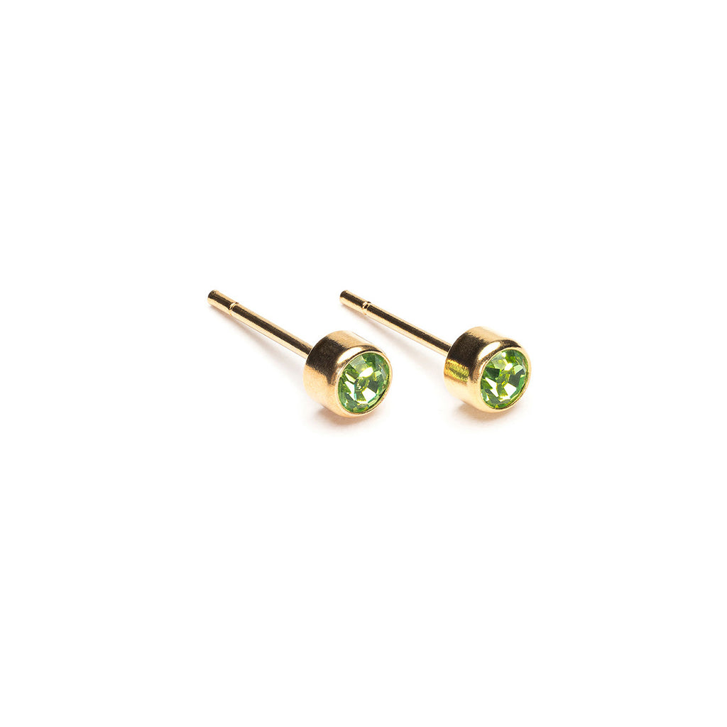 August Birthstone 14k Gold Plated Earrings - Simply Whispers