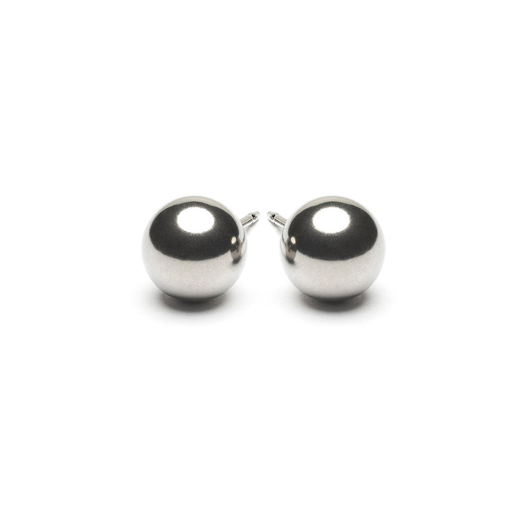 Stainless Steel 7 mm Ball Stud Earrings - Simply Whispers