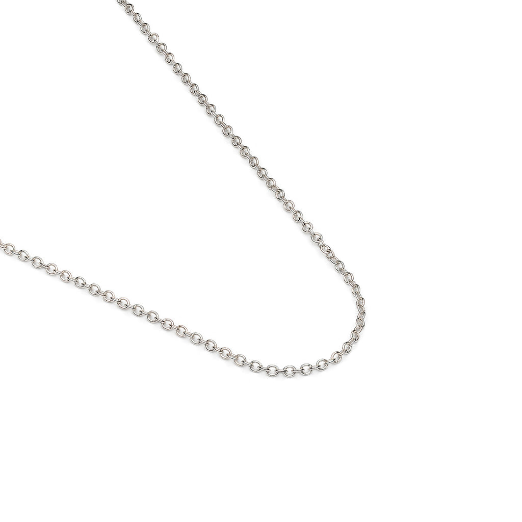 Silver Plated 18 inch Pendant Chain Necklace - Simply Whispers