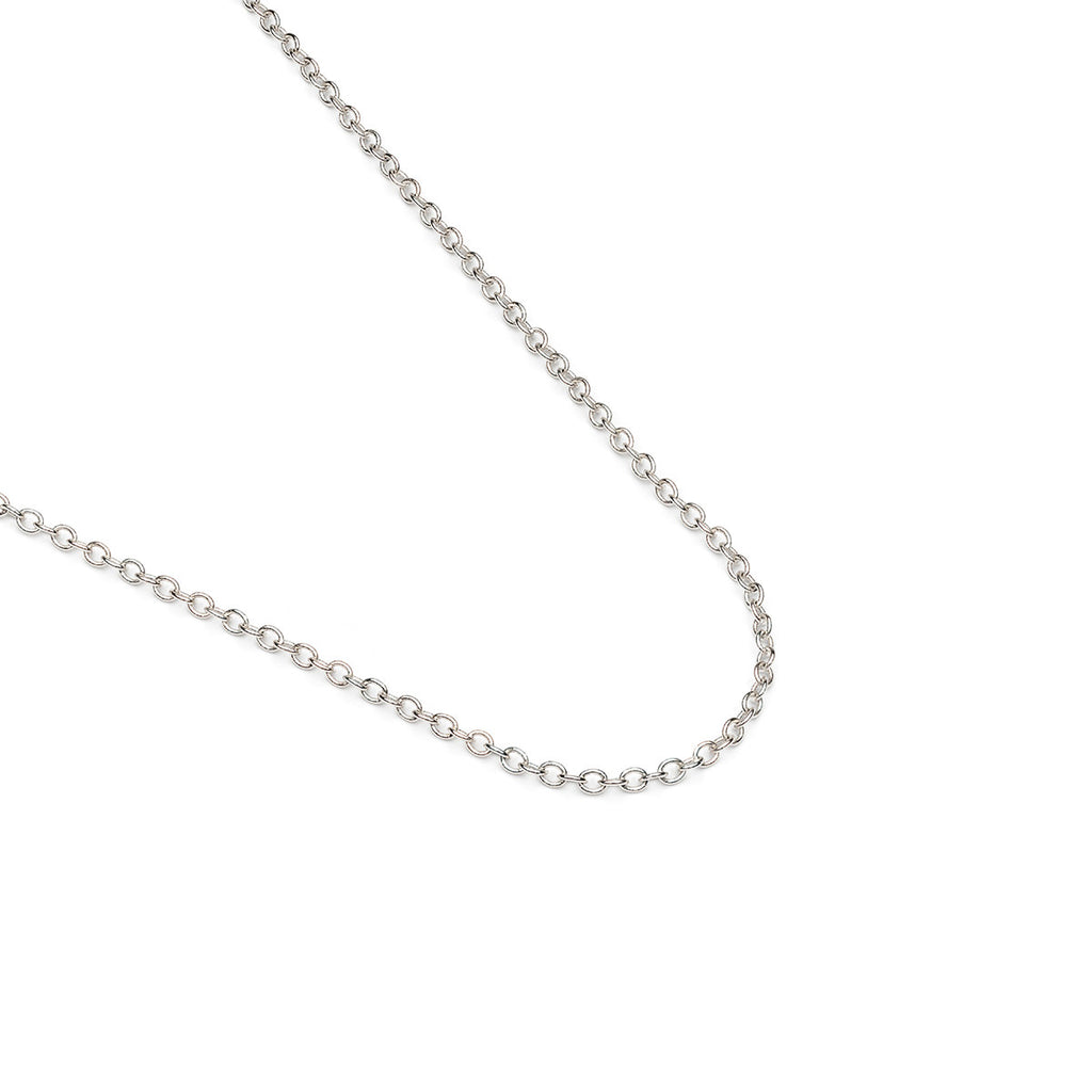 Silver Plated 20 inch Pendant Chain Necklace - Simply Whispers