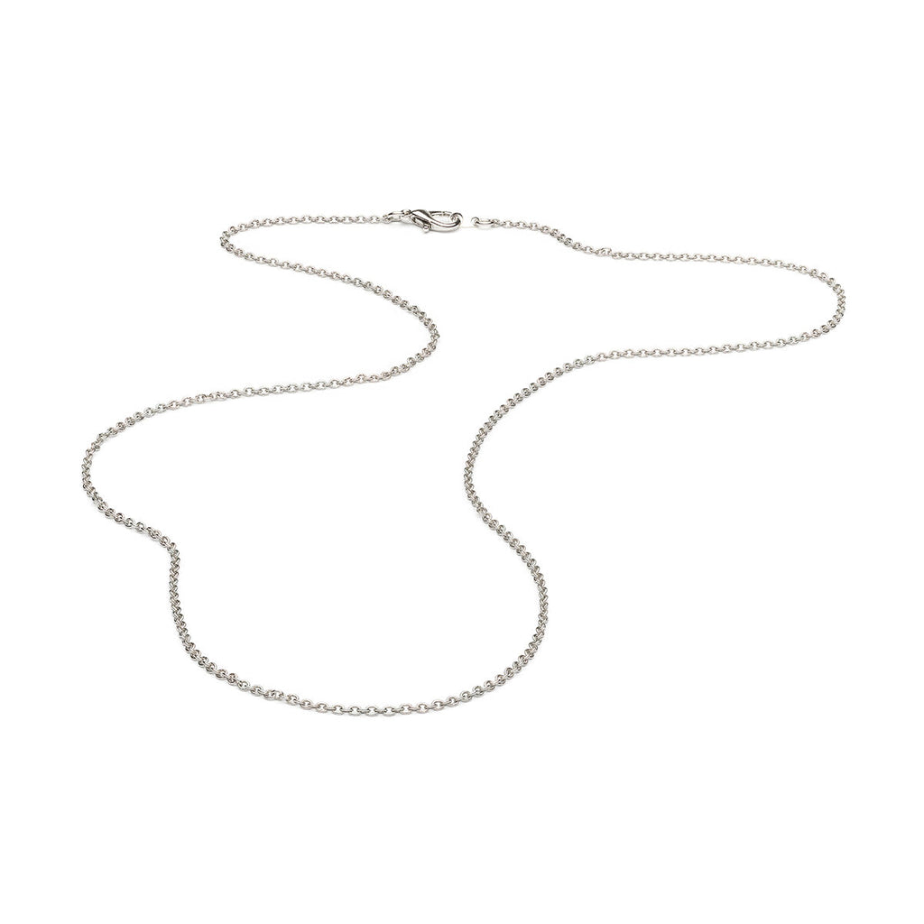 Silver Plated 24 inch Pendant Chain Necklace - Simply Whispers