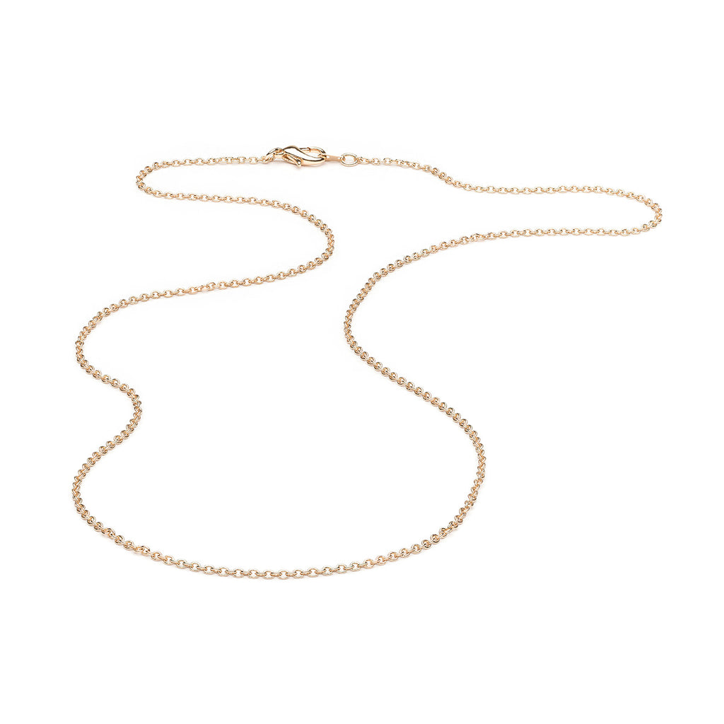 Gold Plated 24 inch Pendant Chain Necklace - Simply Whispers