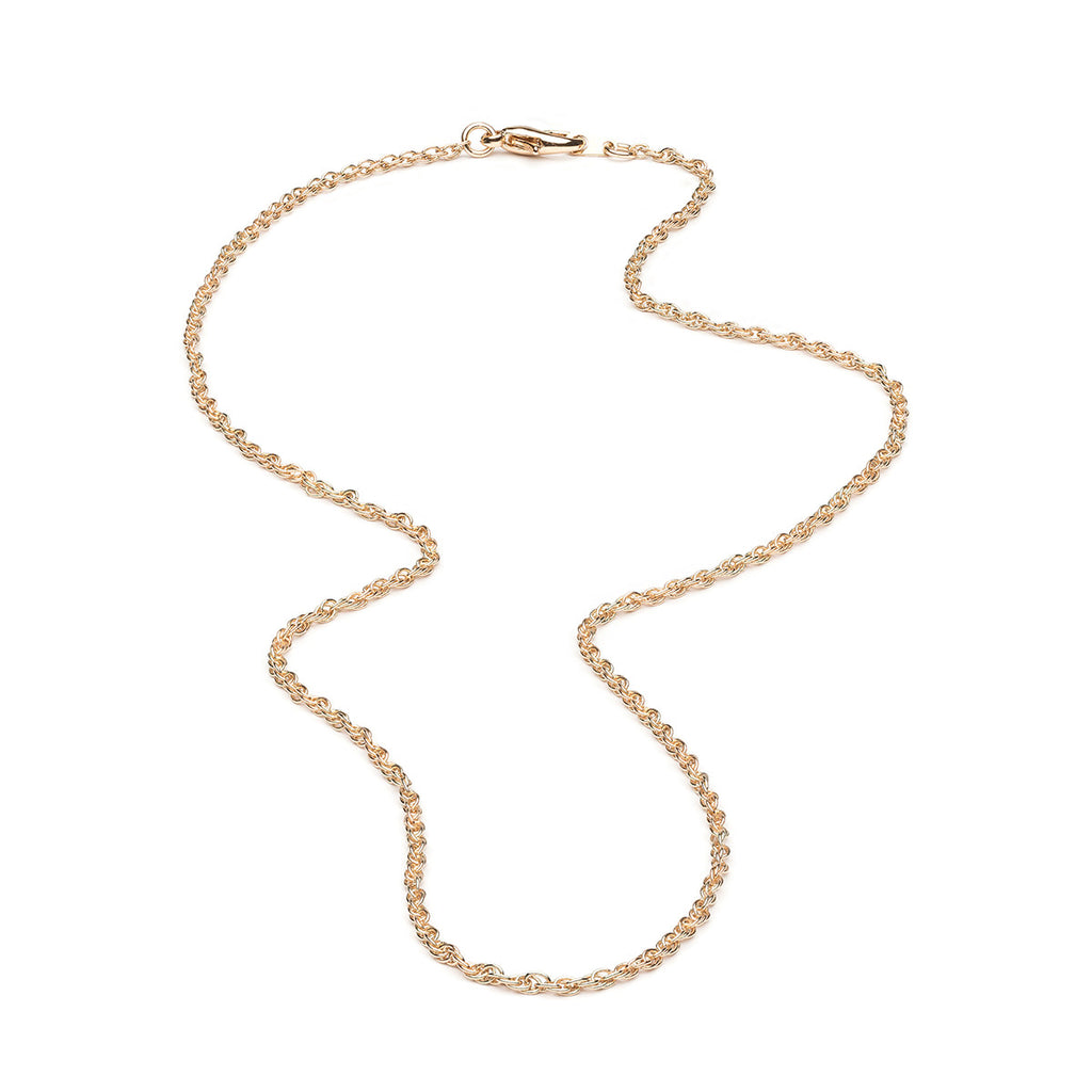 Gold Plated 20 inch Fancy Pendant Chain Necklace - Simply Whispers