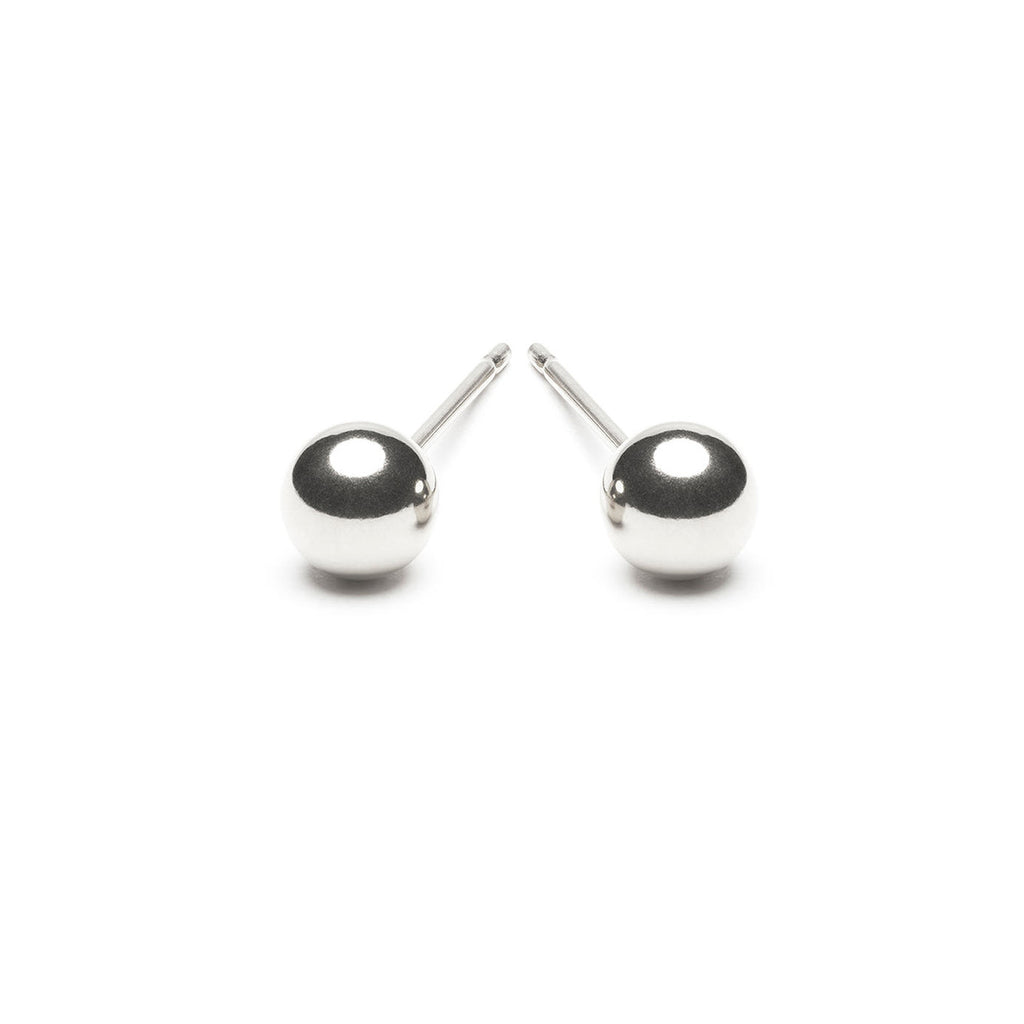 925 Sterling Silver 5 mm Ball Stud Earrings - Simply Whispers