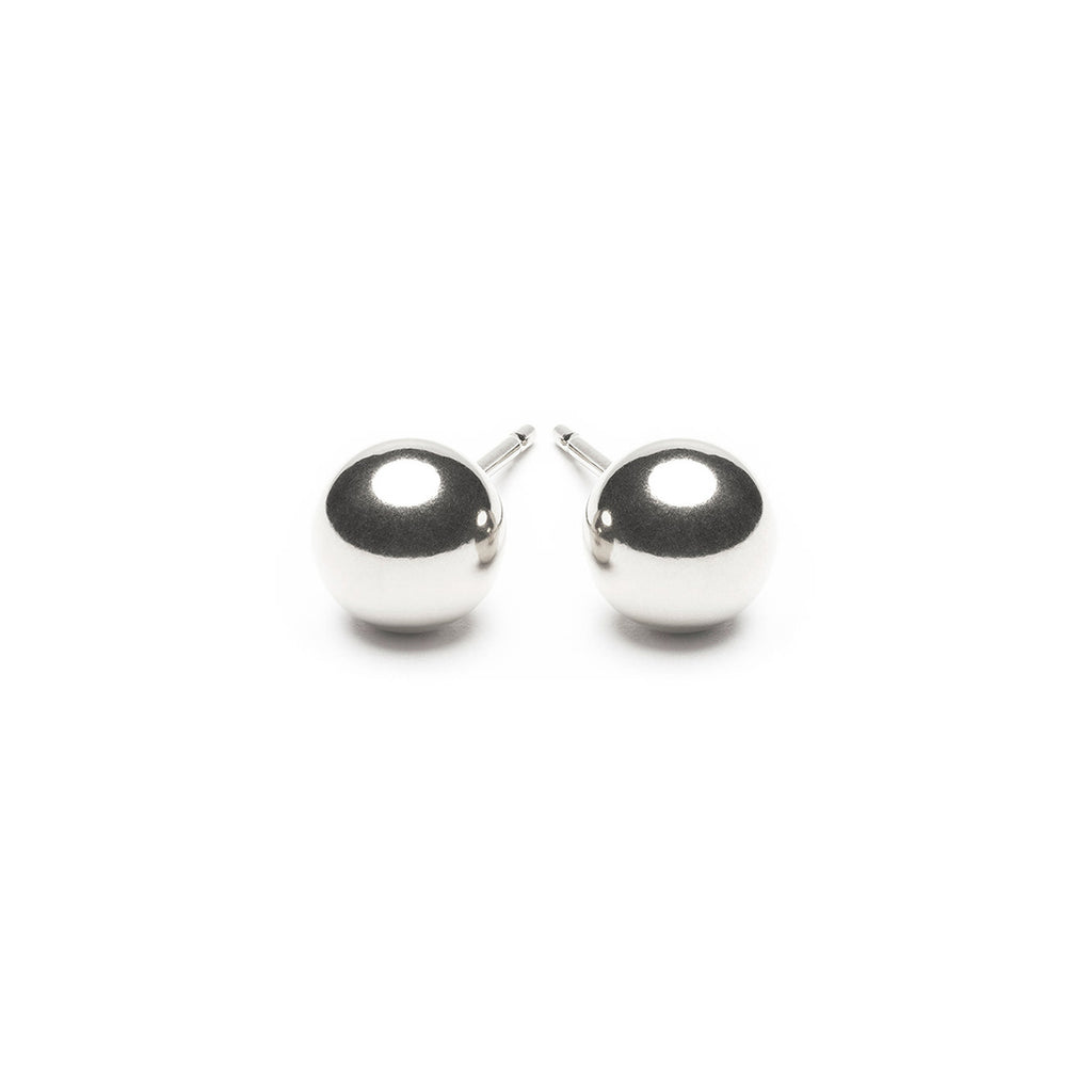 Sterling Silver 6 mm Ball Stud Earrings - Simply Whispers