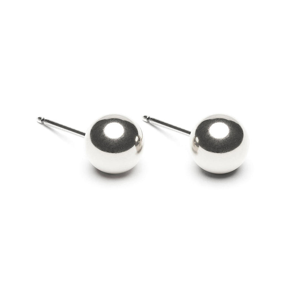 Sterling Silver 7 mm Ball Stud Earrings - Simply Whispers
