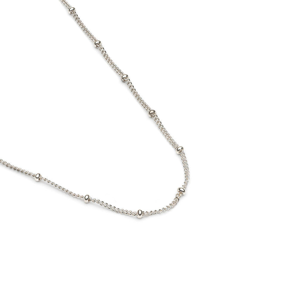 Sterling Silver 16 inch Satellite Chain Necklace - Simply Whispers