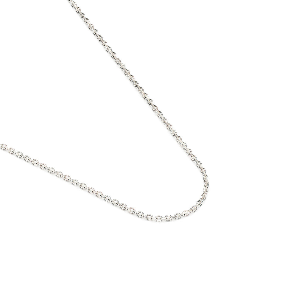 925 Sterling Silver 16 inch Cable Chain Necklace - Simply Whispers