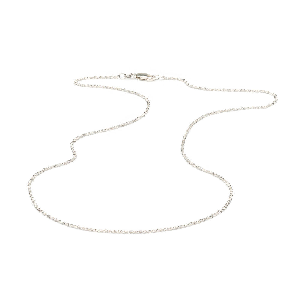 Sterling Silver 20 inch Rope Chain Necklace - Simply Whispers