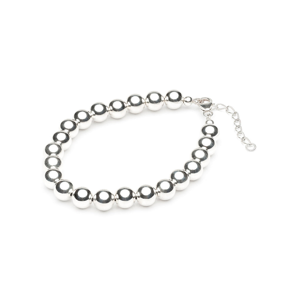 925 Sterling Silver 8 mm Ball Bracelet - Simply Whispers