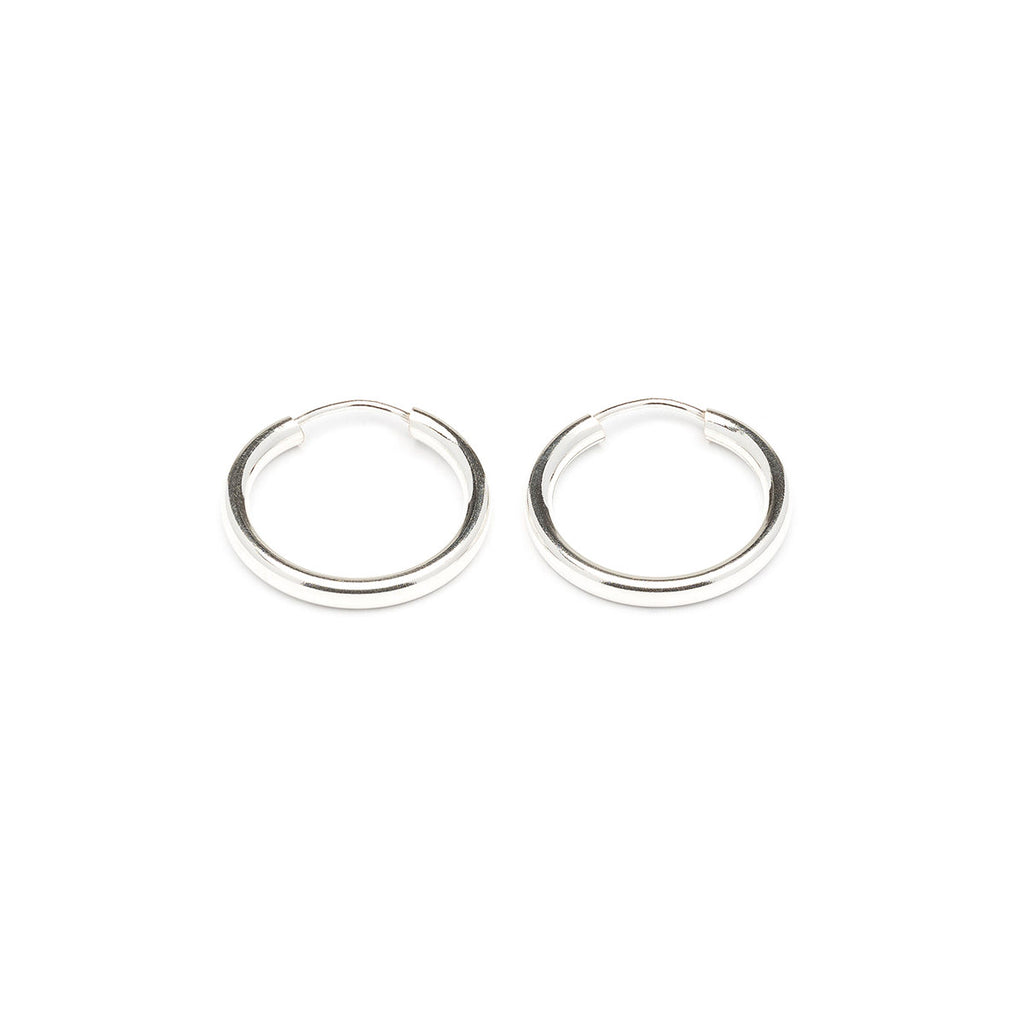 925 Sterling Silver Small Hoop Earrings - Simply Whispers