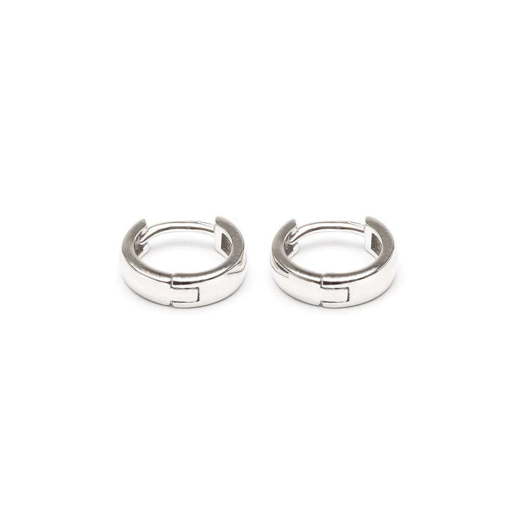 Silver Mini Huggie Earrings - Simply Whispers