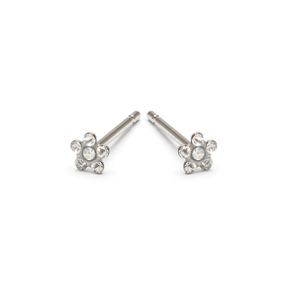 Mini Flower Stud Earrings - Simply Whispers