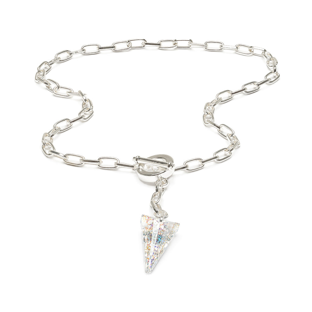 Large Crystal Necklace - Simply Whispers