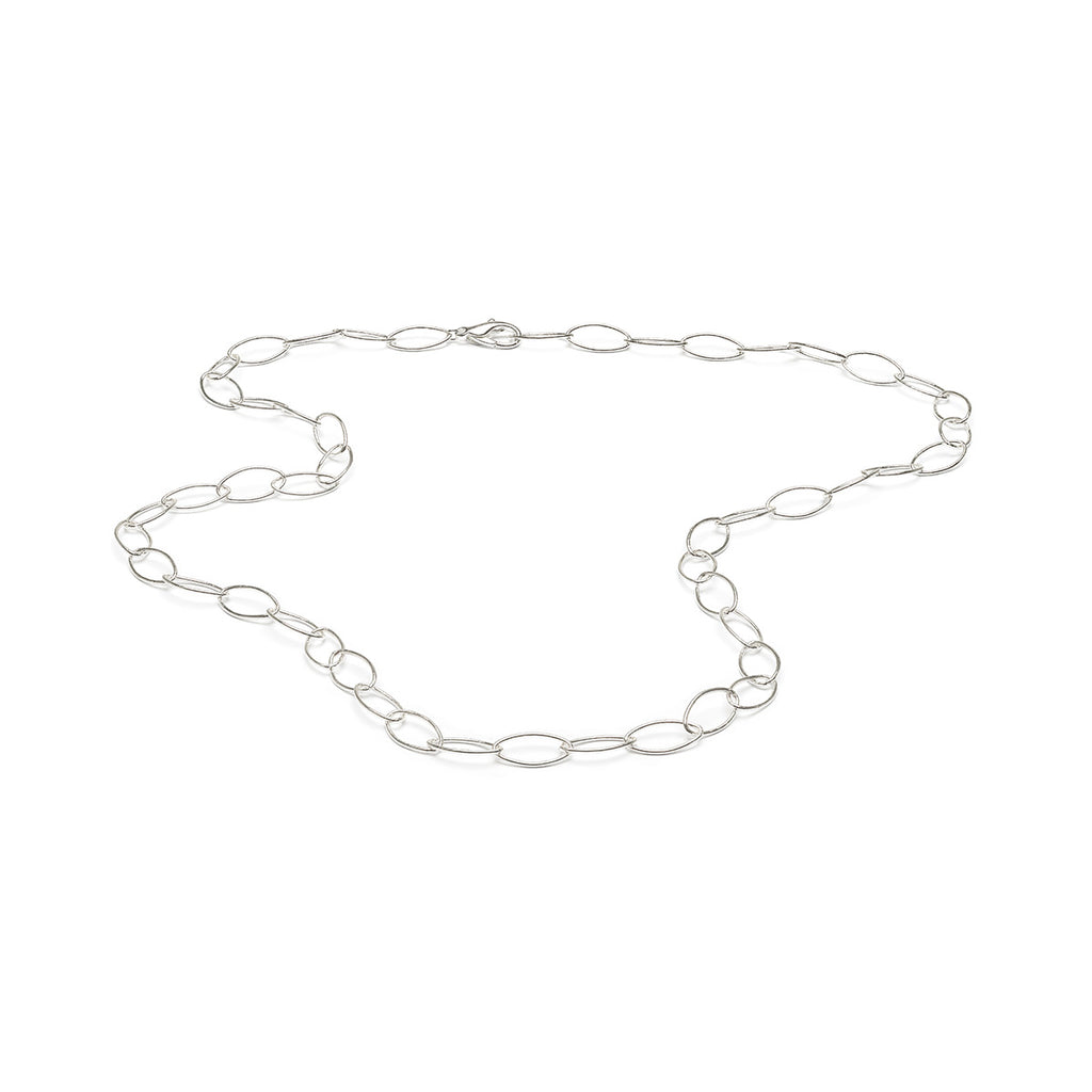 Oversized Oval Link Necklace - Simply Whispers
